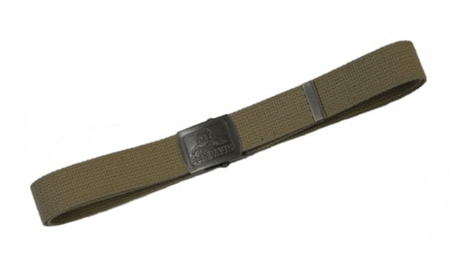 Cotton Webbing Belts - Khaki - Chicano Spot