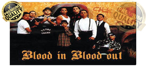 Blood In Blood Out License Plate - Chicano Spot