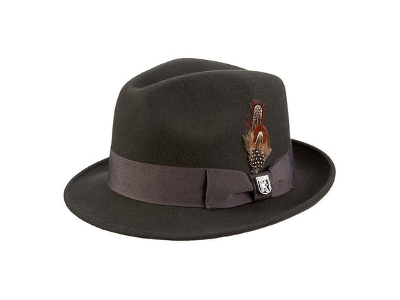 Stetson Hat - Chelsea Charcoal Color - Chicano Spot