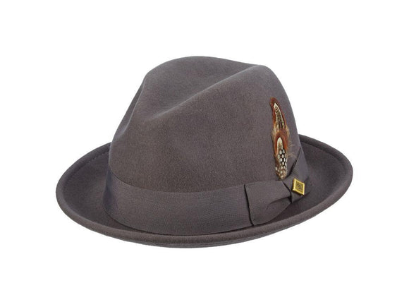 Stetson Hat - Chelsea Grey Color - Chicano Spot