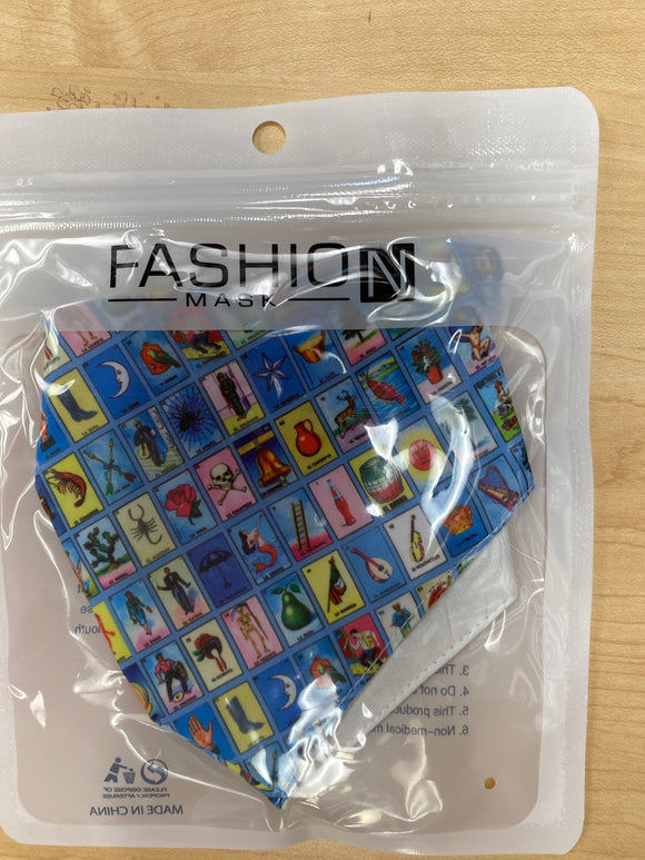 Fashion Masks Loteria - Chicano Spot