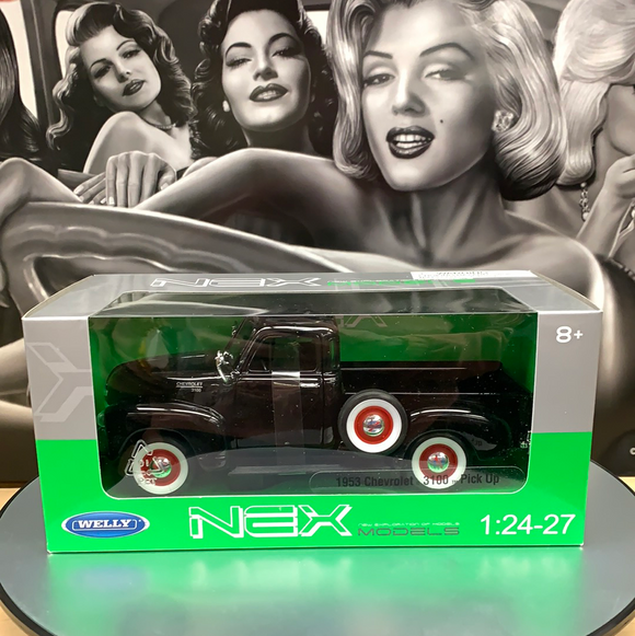 Die cast 1953 Chevy 3100TM Pickup Black