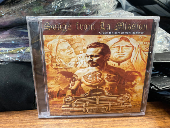 Songs from La Mission CD - Chicano Spot