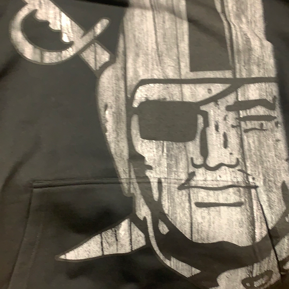 Raider Sleeved Hooded Sweatshirt