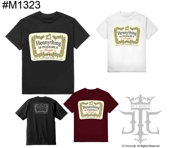 Hennything Shaka Tees Tall Black Only
