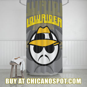 Lowrider Shower Curtain
