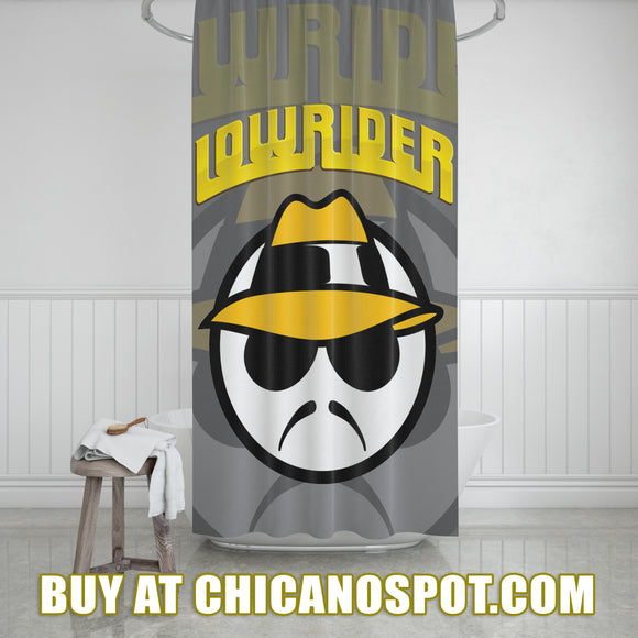Lowrider Shower Curtain - Chicano Spot