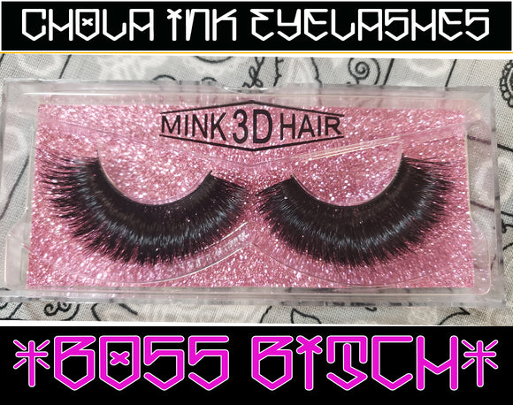 Boss Biach- Eyelashes 100% MInk - Chicano Spot