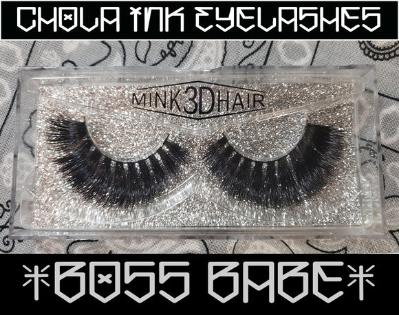 Boss Babe - Eyelashes 100% MInk - Chicano Spot