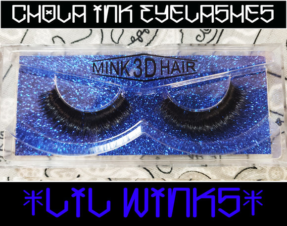 Lil Winks - Eyelashes 100% MInk - Chicano Spot