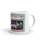 Eastside Story Mug Vol. 1 Coffee Mug 11oz. on white mug - Chicano Spot