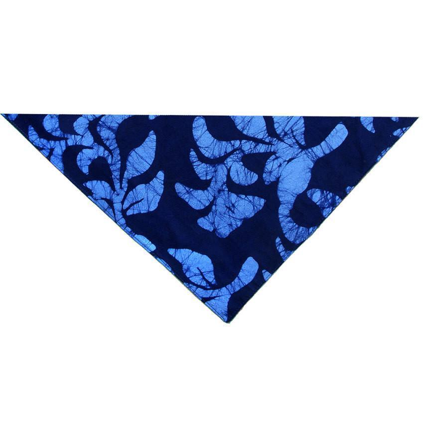Set of Four Napkins - Hanging Ferns Navy