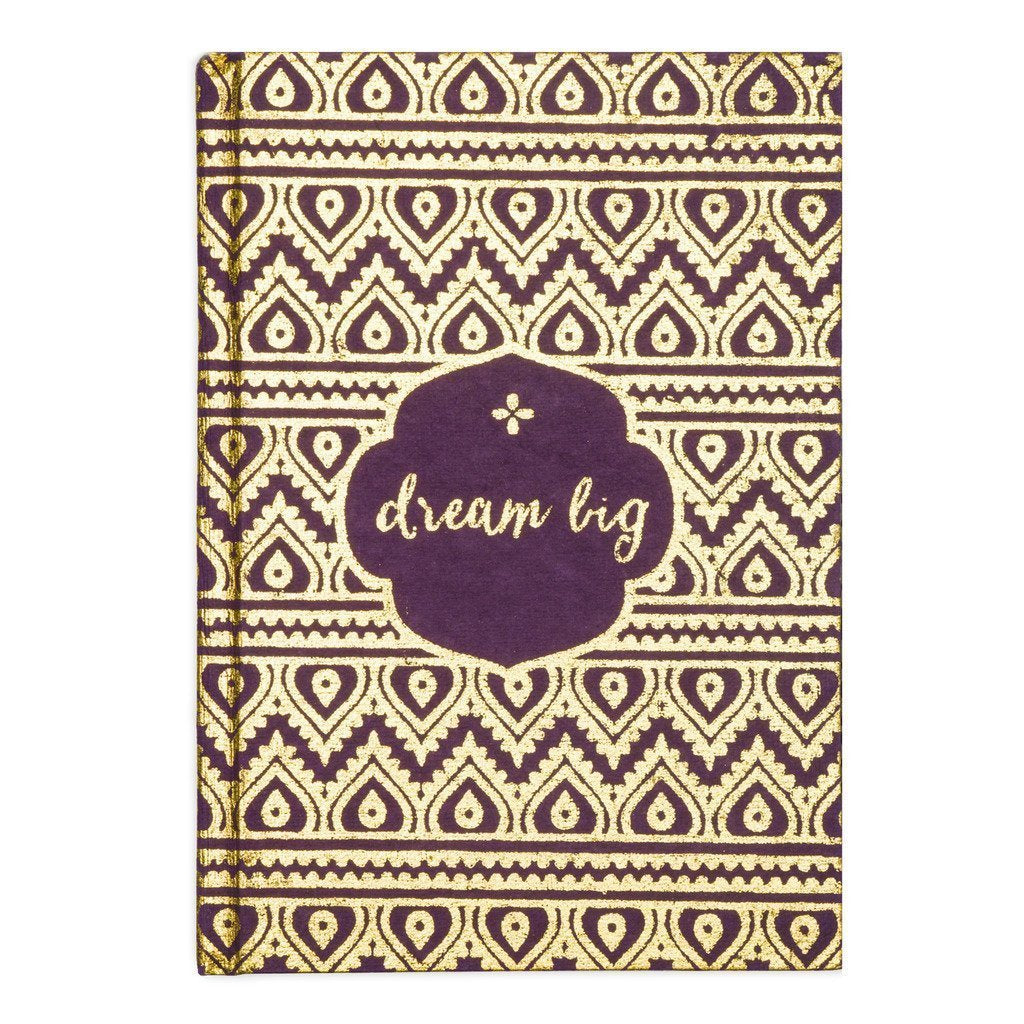 Metallic Message Journal - Dream Big