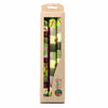 Set of 3 Hand Painted Taper Candles in Gift Box - Kileo Design