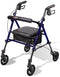 Carex Step N Rest Rolling Walker
