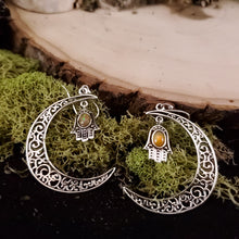 Load image into Gallery viewer, Mystic Moon Opal Earrings