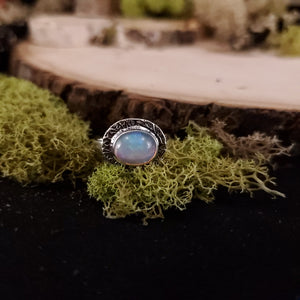Naturally Simple Opal Ring