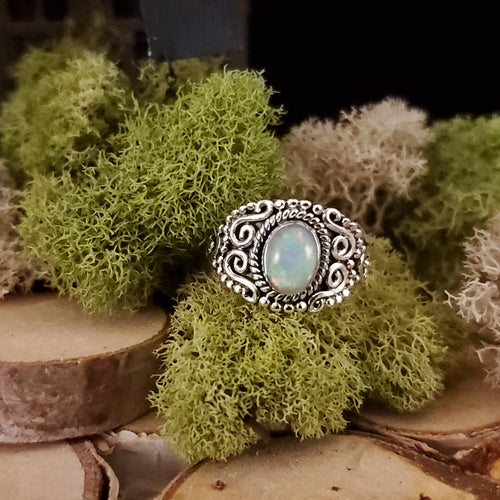 India Flare Opal Ring