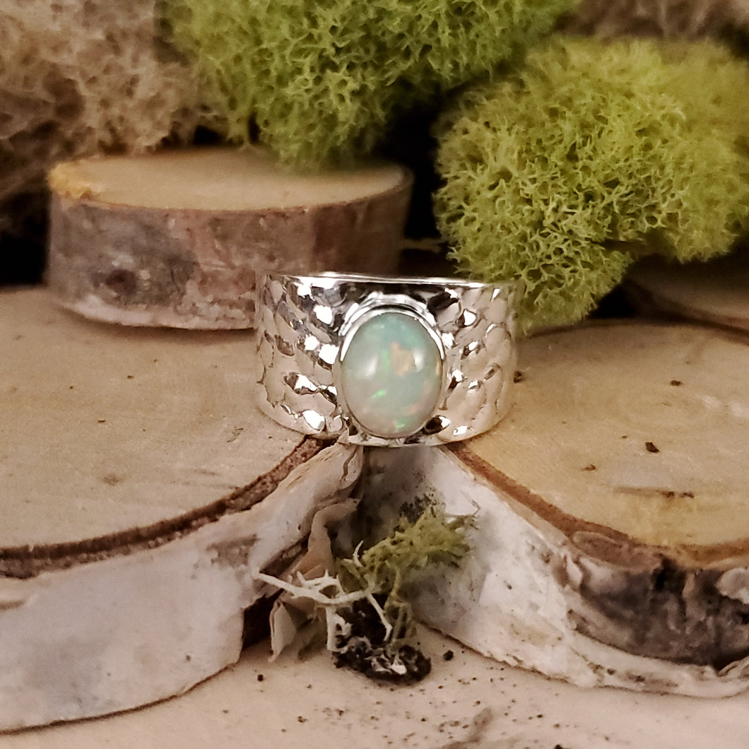 Bubble Fun Opal Ring