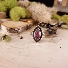 Load image into Gallery viewer, Marquise Pink Tourmaline Ring