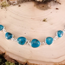Load image into Gallery viewer, Turquoise Cabochon Bracelet