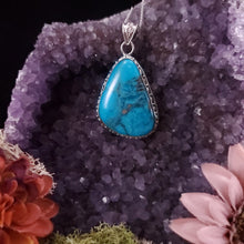 Load image into Gallery viewer, Turquoise Delight Decorative Pendant