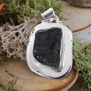 Raw Moldavite Power Pendant