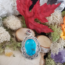 Load image into Gallery viewer, Turquoise Elegance Pendant