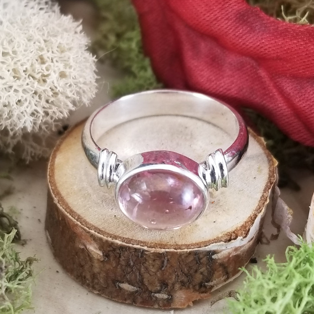 Pink Tourmaline Between The Lines Ring