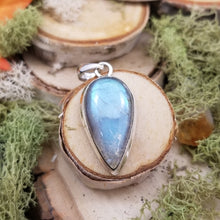 Load image into Gallery viewer, Labradorite Drop Pendant