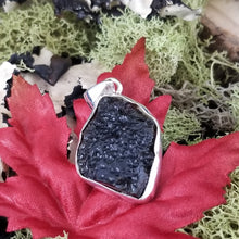 Load image into Gallery viewer, Raw Tektite Pendant