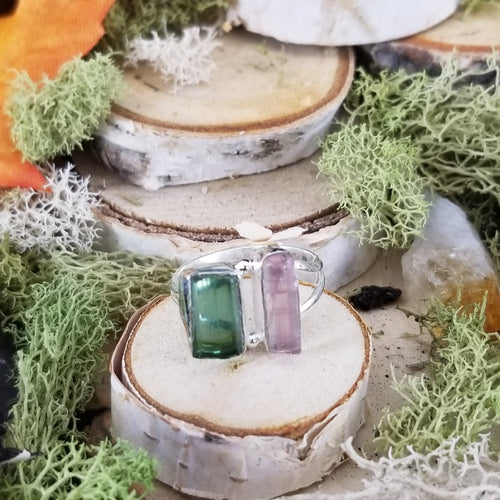 Double Up Tourmaline Ring