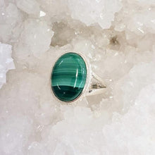 Load image into Gallery viewer, Malachite Rings