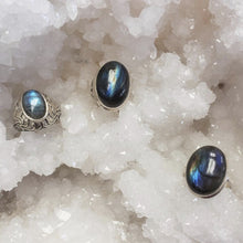 Load image into Gallery viewer, Labradorite Rings