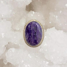 Load image into Gallery viewer, Charoite Ring