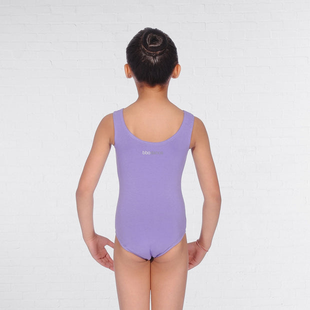 Sleeveless Scooped Neck Leotard