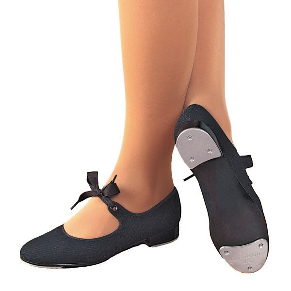 Canvas Junior Tyette Tap Shoes