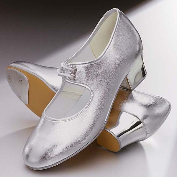 PU Cuban Heel Tap Shoes