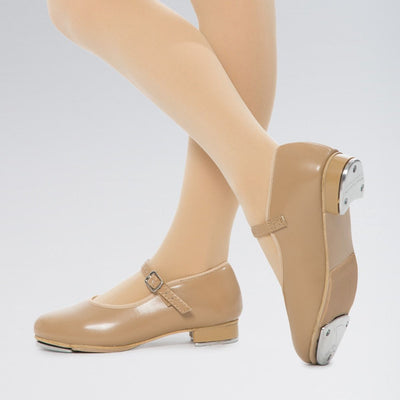 PU Slip On Tap Shoes