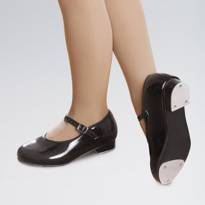 PU Slip On Student Tap Shoes