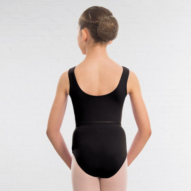 Laura Cotton Lycra Vest Leotard