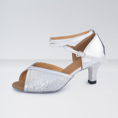 PU Glitter Effect Ballroom Shoes