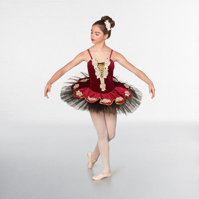 Regal Rose Tutu