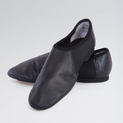 Slip On Leather Split Sole Jazz Shoes