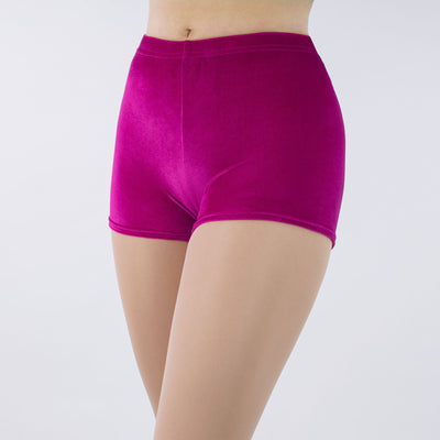 Jenna Stretch Velour Shorts