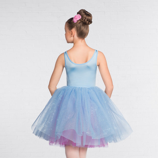 Multi Sequin Lace Three Tone Skirted Romantic Tutu