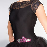 Lace Cap Sleeved Two Tone Romantic Tutu