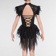 Leotard Glitz With Bustle Skirt