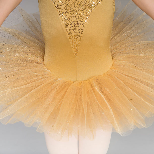 Gold Sequin Glitter Tutu