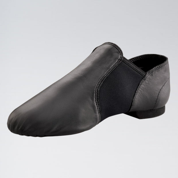 """E-Series"" Leather Slip On Jazz Shoes"